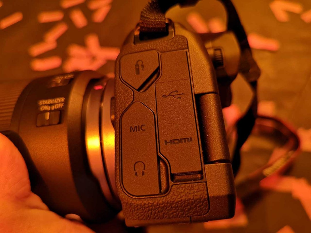 Canon EOS R review: build quality