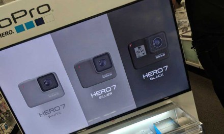 GoPro Hero7 Black, Silver and White leaked in retail display