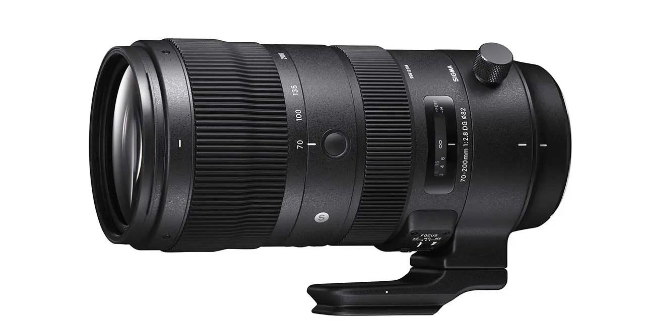 Sigma unveils 70-200mm f/2.8 DG OS HSM, trio of f/1.4 primes