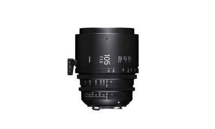 Sigma launches 28mm T1.5 FF, 40mm T1.5 FF, 105mm T1.5 FF cine lenses