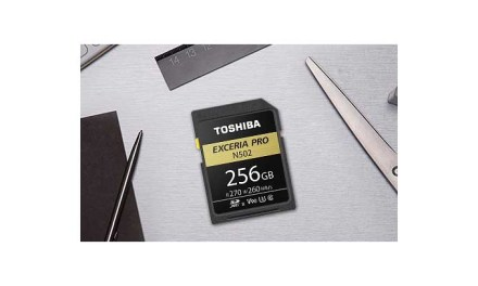 Toshiba launches EXCERIA Pro SD cards for hi-res video