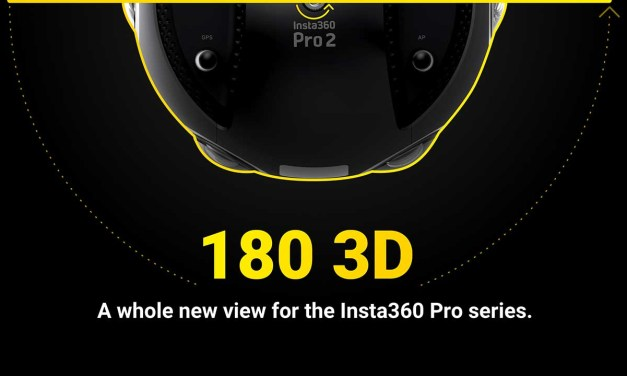 Insta360 adds 180° 3D capture to Pro series cameras