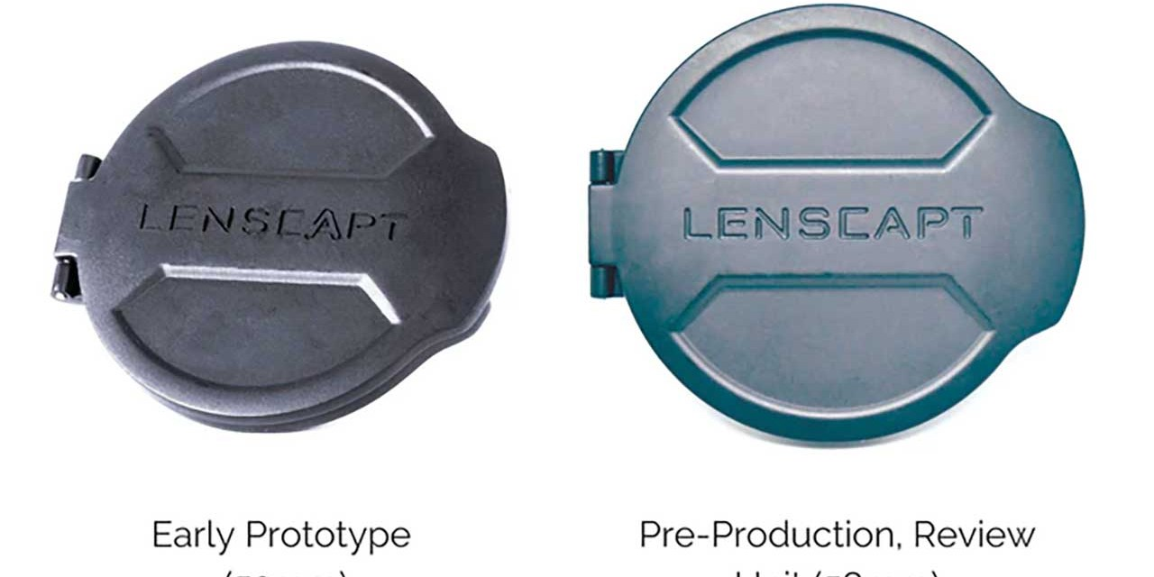Lenscapt redesigns the lens cap