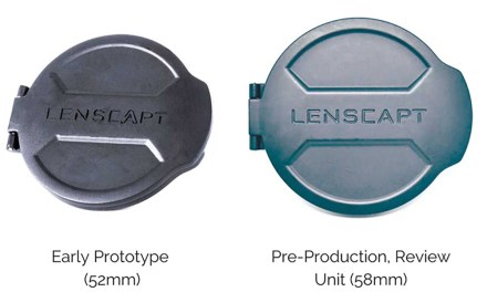 Lenscapt redesigns the lens cap
