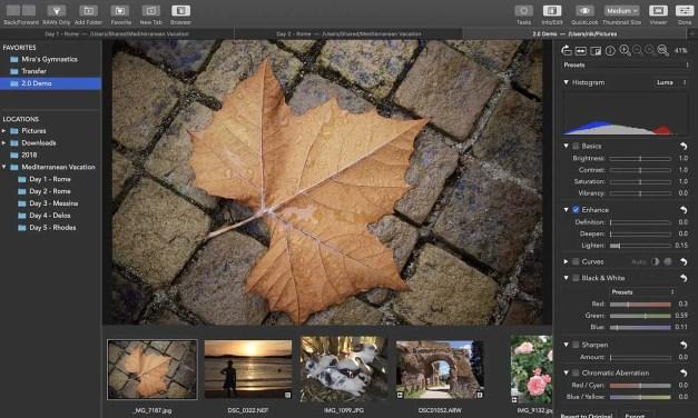 RAW Power 2.0 adds batch editing, new adjustment tools