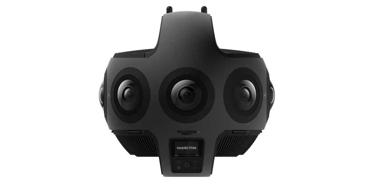 Insta360 Titan captures cinematic VR at 11K resolution
