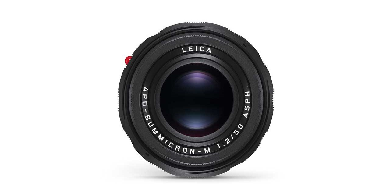 Leica unveils three limited edition M lenses with new colours