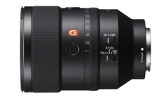 Sony FE 135mm f/1.8 G Master: specs, price, release date confirmed