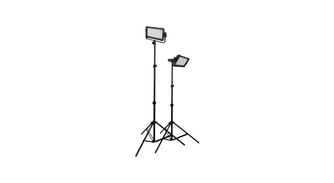 Best lighting for video: LED light panels