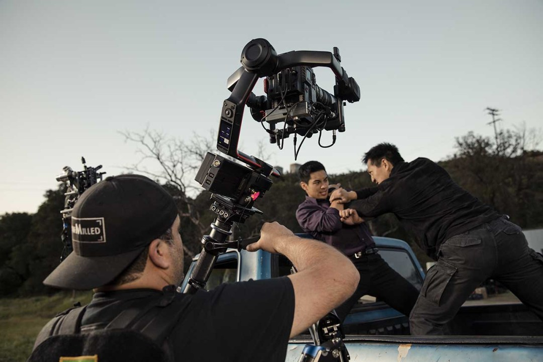 Using rigs, cages & steadicams for video