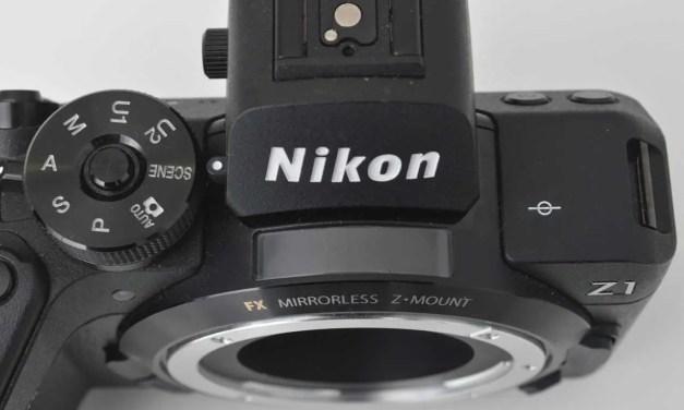 UPDATED: Nikon Z1 image leaked online was early Z6/Z7 prototype