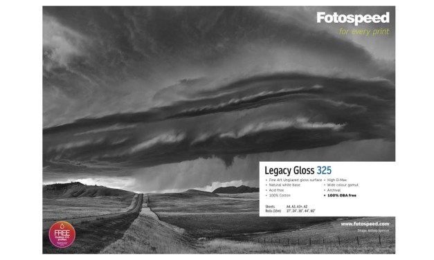 Fotospeed announce new archival paper Legacy Gloss 325