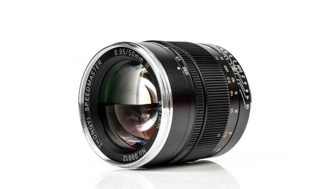 ZY Optics releases Mitakon Speedmaster 50mm f/0.95 mark III