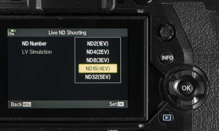 How do you use Olympus Live ND Shooting mode?