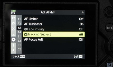 How to use the Olympus OM-D E-M1X Intelligent Subject Tracking