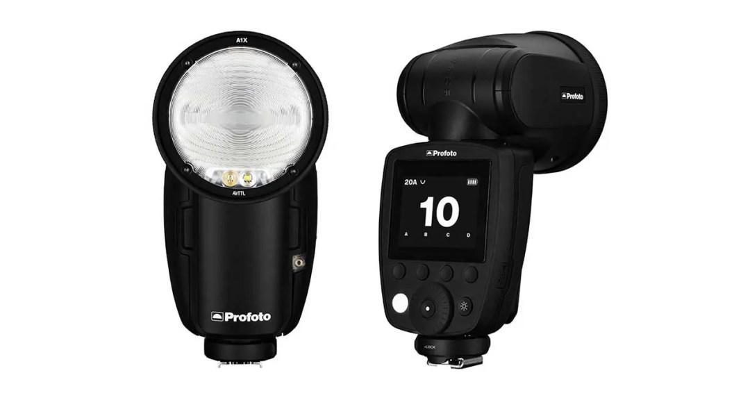 Profoto A1X claims title of world's smallest studio light