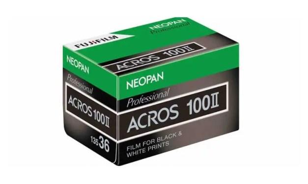 Fujifilm bringing back black & white Neopan 100 Acros II film