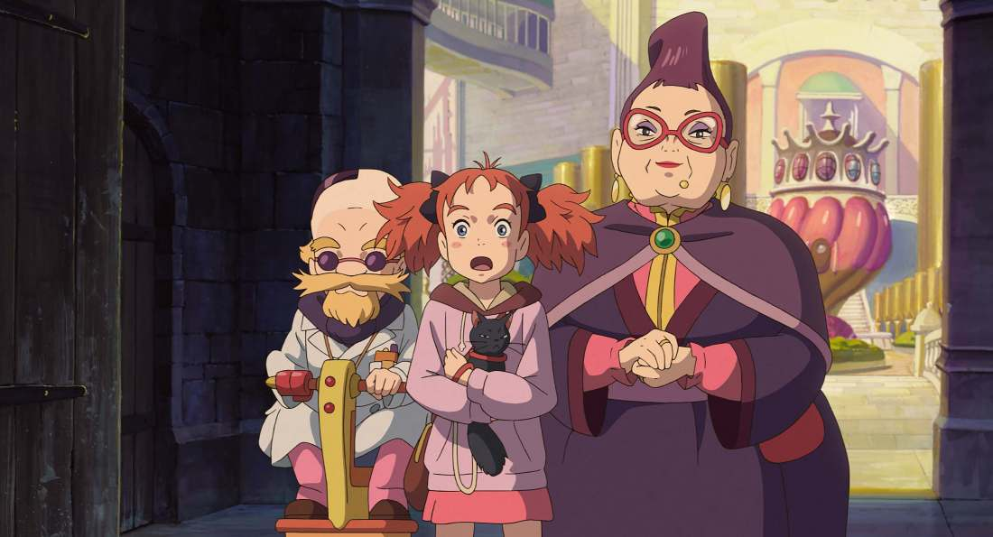 Mary and the Witch's Flower メアリと魔女の花