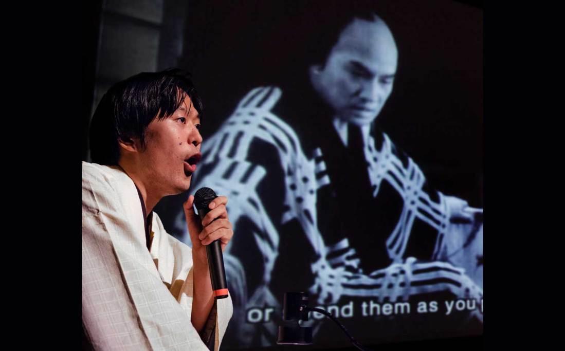 KATAOKA Ichiro benshi special performance