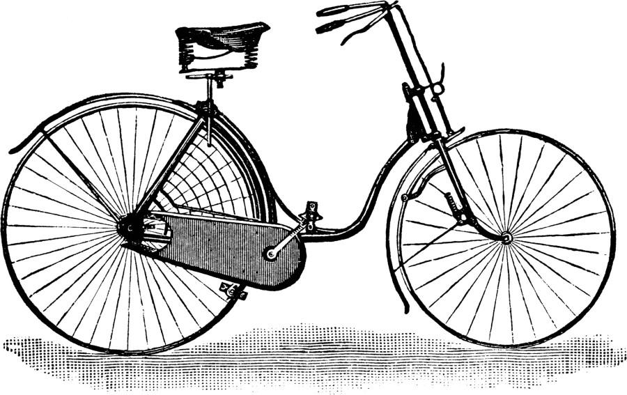 Велосипед безопасности для леди, 1889 года