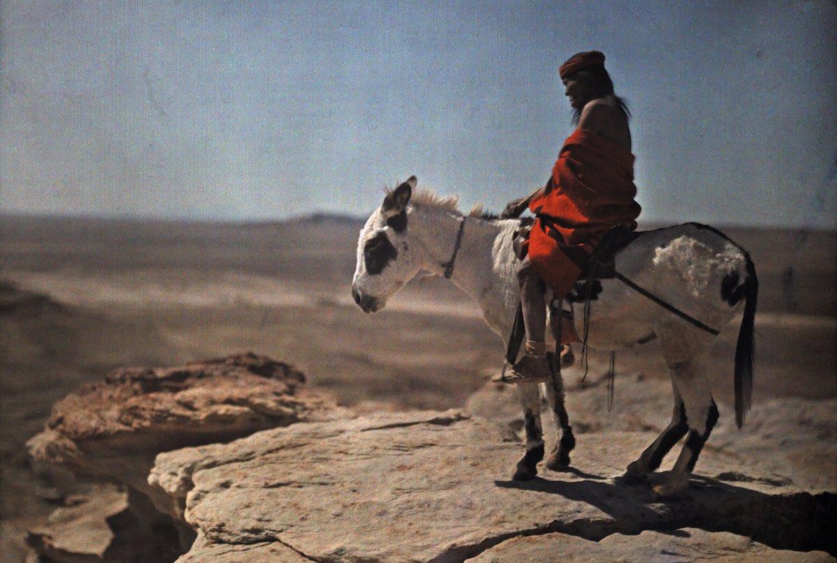 США в начале ХХ века - 50 цветных автохромных фотографий - 1