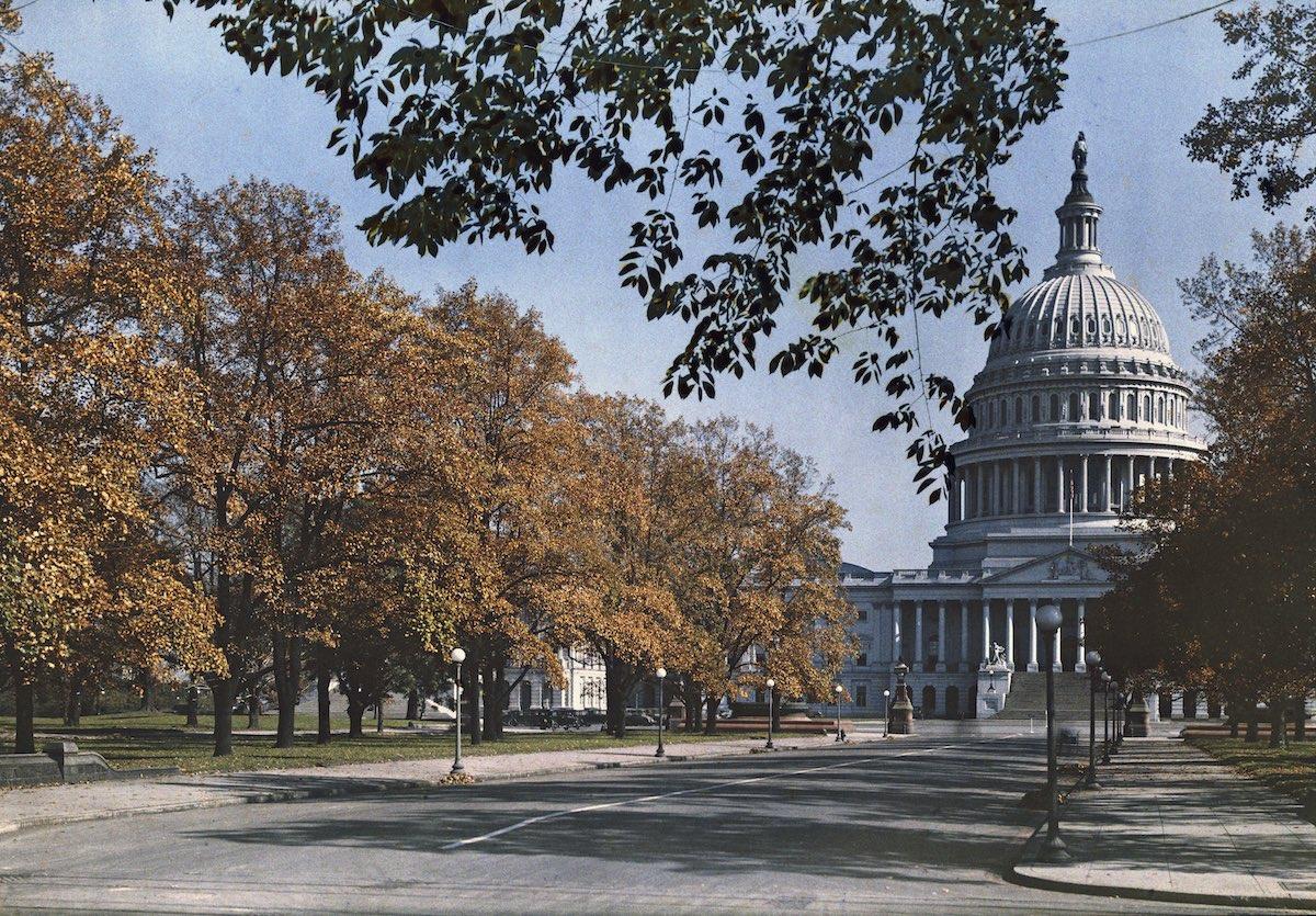 США в начале ХХ века - 50 цветных автохромных фотографий - 12
