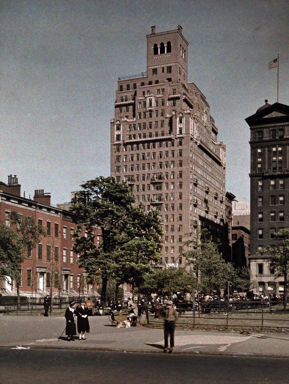 США в начале ХХ века - 50 цветных автохромных фотографий - 32