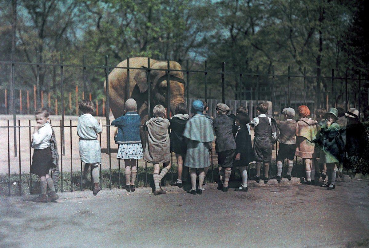 США в начале ХХ века - 50 цветных автохромных фотографий - 45