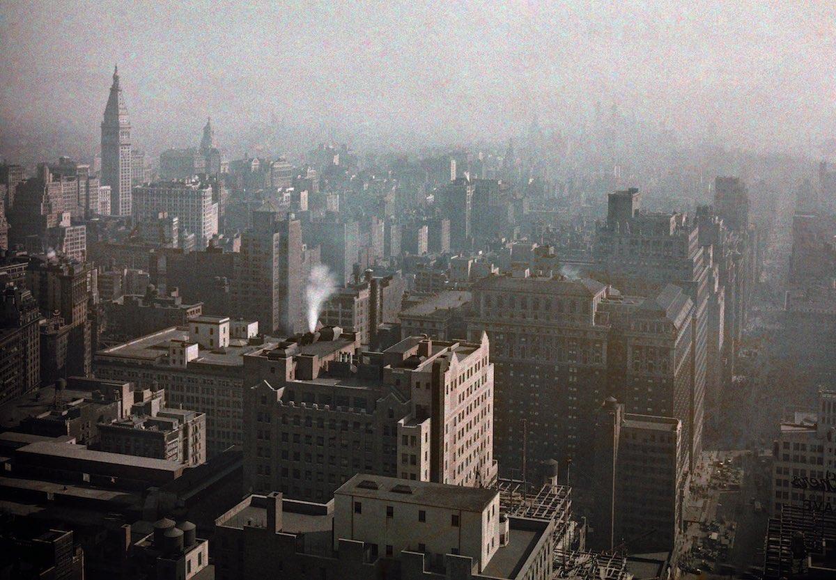 США в начале ХХ века - 50 цветных автохромных фотографий - 49