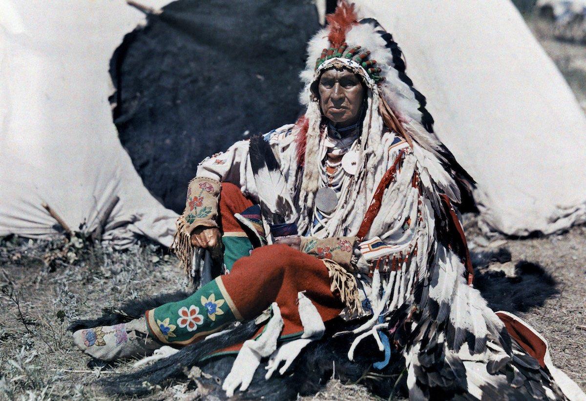 США в начале ХХ века - 50 цветных автохромных фотографий - 8