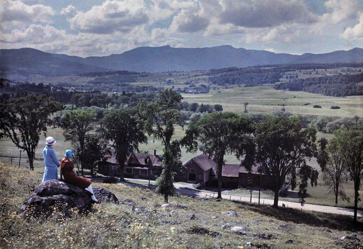 США в начале ХХ века - 50 цветных автохромных фотографий - 9
