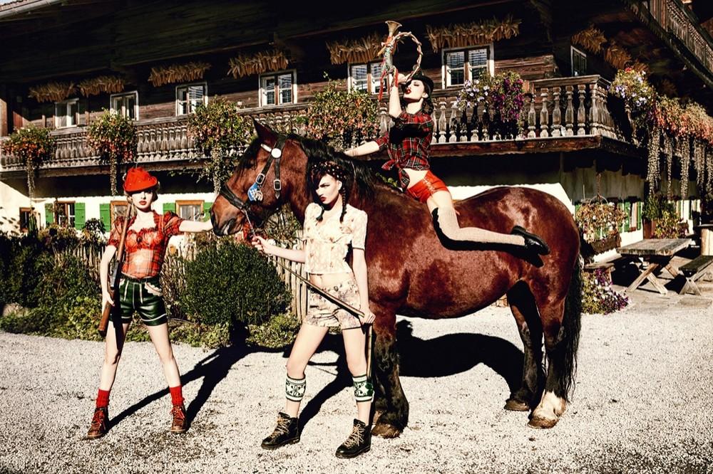 Баварские воспоминания в эротических фотографиях 6