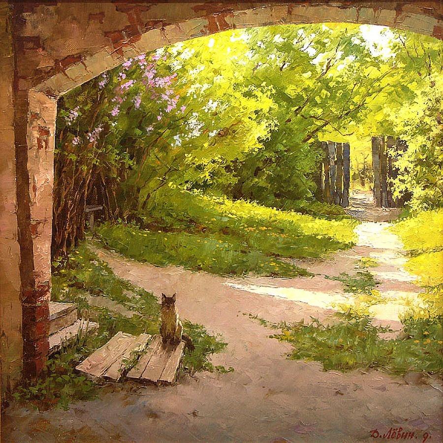 Вдали от суеты: деревенская живопись Дмитрия Лёвина 3