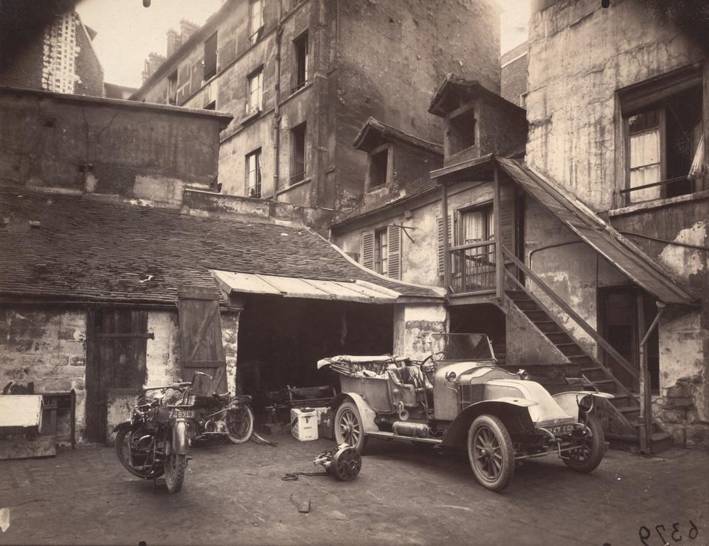 Старый Париж в фотографиях Эжена Атже 2