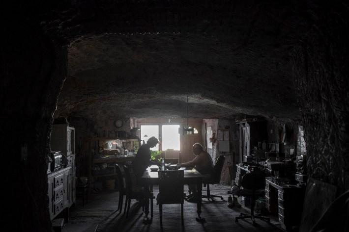 Как живёт подземный город Кубер-Педи в австралийской пустыне  1