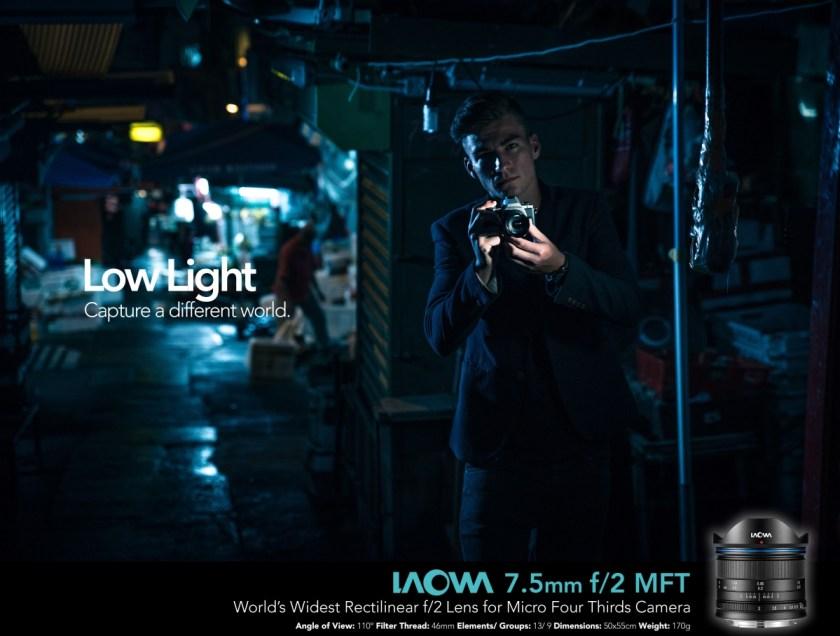 เลนส์ Laowa 7.5mm สำหรับกล้อง MFT (3)