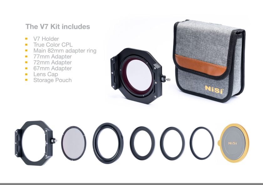 Camera Maker; ฟิลเตอร์; Filter Holder; Holder System; โฮเดอร์ฟิลเตอร์; NiSi; NiSi V7 100mm Filter Holder System;