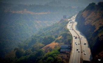 Mumbai Pune Expressway - December 2012