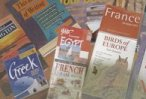 Travel books and guides are great resources.