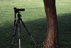 A 200mm lens needs more distance from the subject to get the same picture.