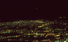 Camera shake ruins this long night exposure of Alberquerue, New Mexico. Photo by Lorelle VanFossen