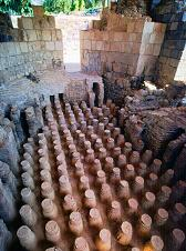 Ancient Hamam (bathhouse) in Israel, photo by Brent VanFossen