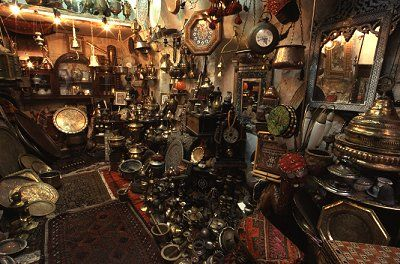Inside one of the many shops in the Old City of Jerusalem, photo by Brent VanFossen