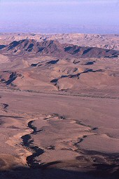 Arava Desert, Southern Israel, photograph by Brent VanFossen