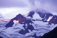 Matanuska Glacier Alpenglow, photo by Brent VanFossen