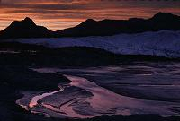 Matanuska Glacier at Sunset, photo by Brent VanFossen