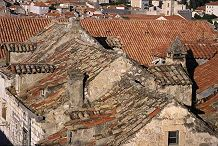 Ancient homes in Dubrovnik, Croatia, photo by Lorelle VanFossen