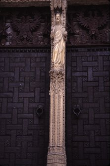Another perspective of the main door of the cathedral, Toledo, Spain, photograph by Brent VanFossen