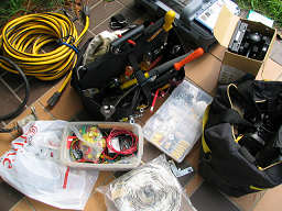Photograph of part of our tool kit, photograph by Lorelle VanFossen