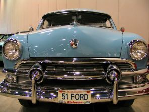 old car 51 ford antique blue mobile alabama lorelle vanfossen